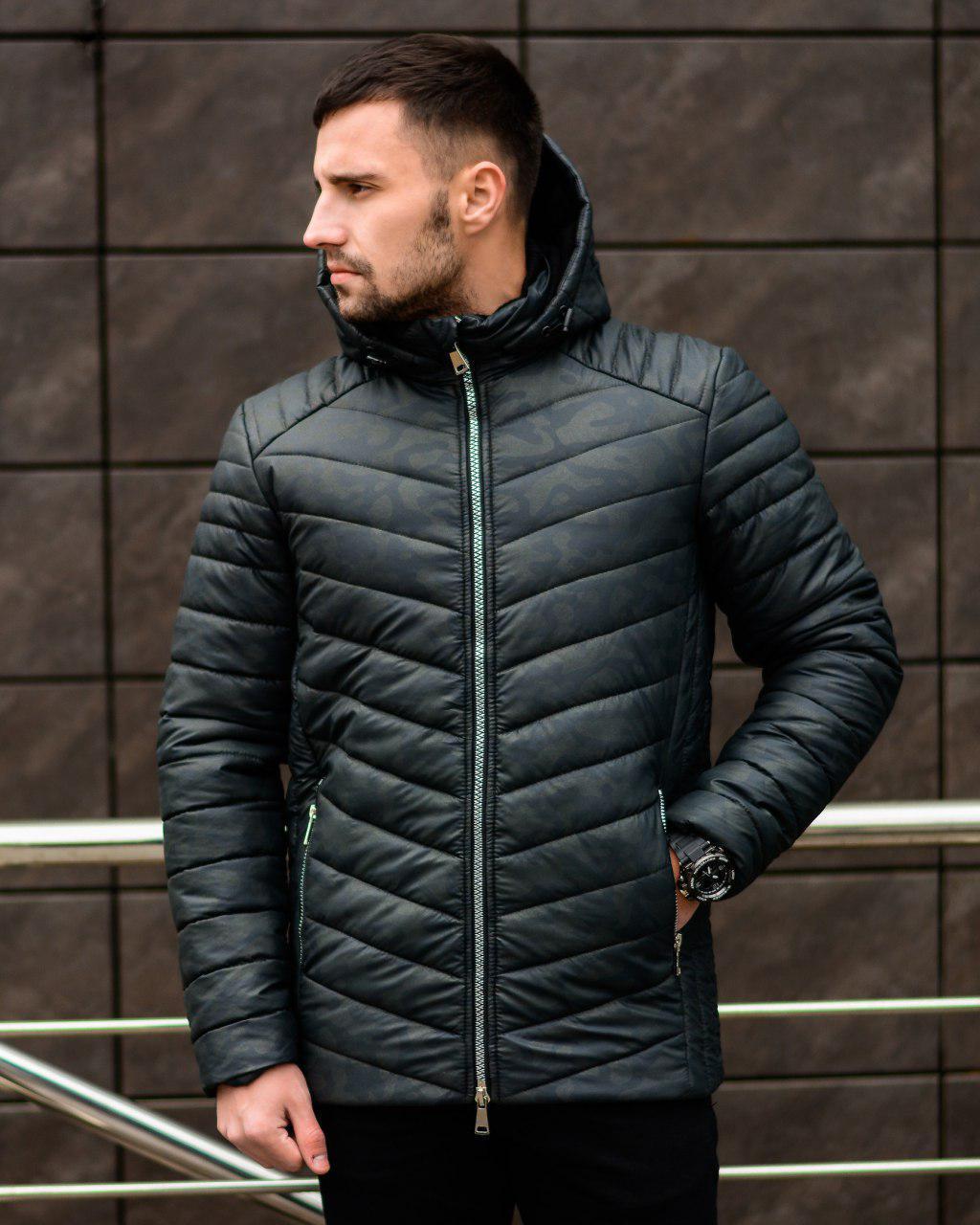 Зимова куртка Мілітарі Грей