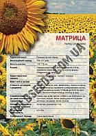 Семена подсолнечника Матрица под гранстар до 50г 2019, Економ