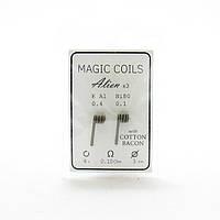 Комплект спіралей Magic Coils Alien №41 2 шт 0.10 Ом