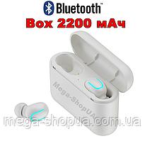 Вакуумные наушники и гарнитура беспроводные Bluetooth блютуз U8W для телефона смартфона. Бездротові навушники