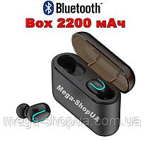 Вакуумные наушники и гарнитура беспроводные Bluetooth блютуз U8B для телефона смартфона. Бездротові навушники