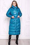 Жіночий зимовий пуховик Пандора,42-56р, фото 10