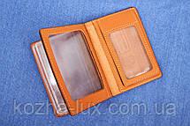 Обложка для водительских документов толстая, натуральная кожа, фото 3