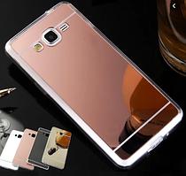 Силиконовый зеркальный чехол для Samsung Galaxy Note 5 N920