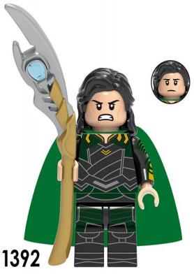 Локи Суперзлодей Марвел Мстители Аналог лего