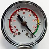 Манометр EN 837.1 фильтра масляного ГСТ