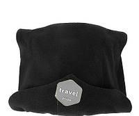Подушка-шарф для путешествий Travel Pillow черный Специальное предложение
