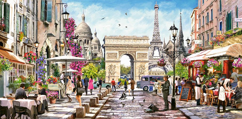 Пазлы Душа Парижа на 4000 элементов, NEW 2020