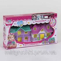 Домик кукольный KDL 39 - 04 (80706) с аксессуарами, в коробке