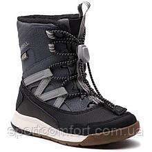 Серые зимние ботинки Merrell с текстильной подкладкой 37 и 38 размеры