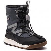 Серые зимние ботинки Merrell с текстильной подкладкой