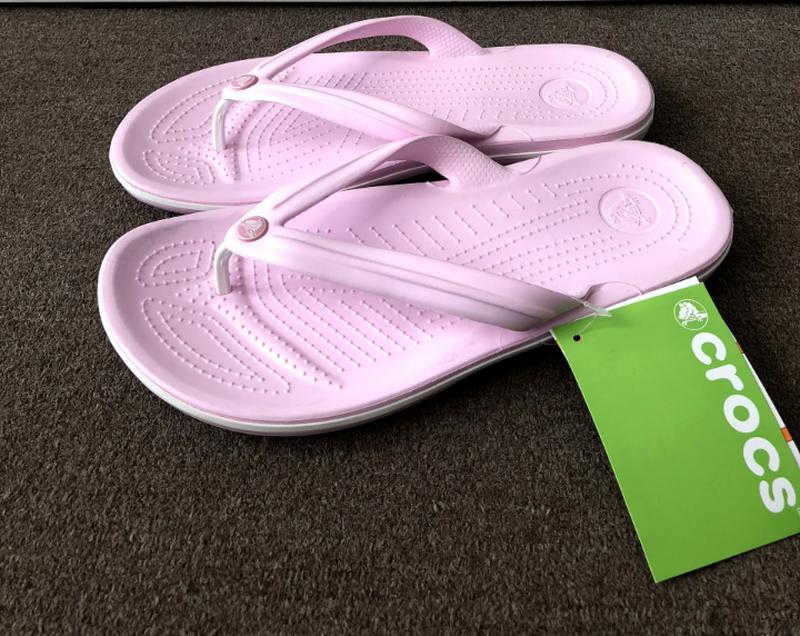 Вьетнамки женские Crocs Crocband Flip Flop 37 разм.