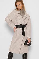 Пальто женское демисезонное шерстяное 8871-4 | 42-48р.
