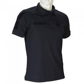 Футболка поло полиция Camo-Tec Paladin PRO CoolPass черная