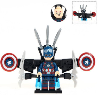 Капитан Америка Мстители Финал Супергерой Марвел Аналог лего