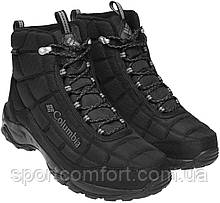 Зимові черевики Columbia чорні і сині