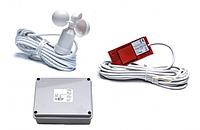 Комплект управления  детектора ветра и дождя