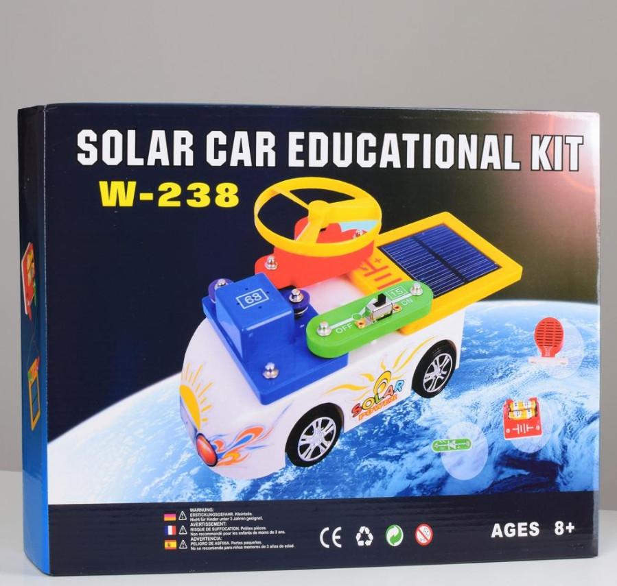 Электронный конструктор W-238 с солнечной батареей