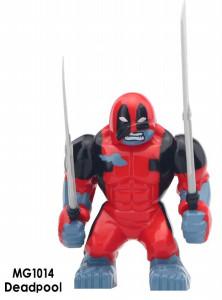 Дедпул Deadpool Супергерой Марвел Мстители Аналог лего 7-9 см