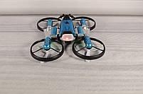 Квадрокоптер-трансформер (квадрокоптер + мотоцикл 2 в 1 - QY Leap Speed PRO) Синий, фото 4