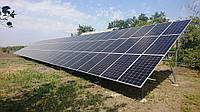 """Очередной объект, реализованный нашими специалистами в Веселовском районе, Запорожской области. Сетевая фотоэлектрическая станция, мощностью 30 кВт под """"Зеленый тариф""""."""