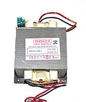Трансформатор высоковольтный для микроволновки MD-801EMR-1 (5-ть контактов,230V)