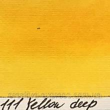 Рідка акварельна фарба 111 жовта темна, 30мл LIQUAREL