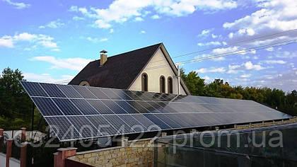 """Встречайте!) Наш новый реализованный объект в Днепропетровской области! Сетевая фотоэлектрическая станция, мощностью 30 кВт, которая установлена на территории частного домохозяйства для продажи электроэнергии по """"Зеленому тарифу""""."""