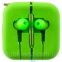Проводные вакуумные  наушники Xiaomi PISTON 3 Зеленый