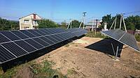 """Наша новая солнечная электростанция в Днепропетровской области! 30 кВт под """"Зеленый тариф"""""""