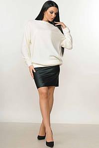 Женский костюм со свитшотом и юбкой больших размеров (Микаэль-Спэйс ri)