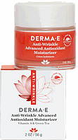 Инновационный антиоксидантный увлажняющий крем с витамином А и экстрактом зеленого чая против морщин Derma E