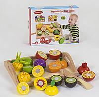 Деревянные фрукты на липучках С 39280