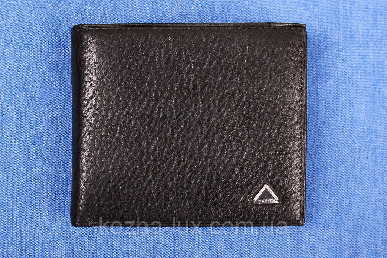 Портмоне мужское кожаное классное VE-016-10, натуральная кожа