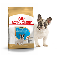 Сухой корм для щенков породы Французский бульдог Роял Канин Royal Canin FRENCH BULLDOG puppy, 1 кг