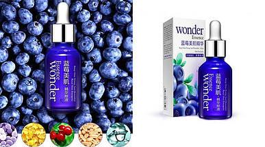 Сыворотка Wonder Essence с гиалуроновой кислотой и экстрактом черники, сыворотка Вондер Есенс 96%, фото 3