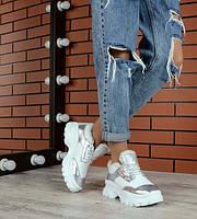 Зимние кроссовки женские кожаные TOPs2279