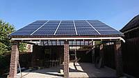 Довольно непростая, сетевая солнечная станция, мощностью 30 кВт,