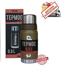 Термос Tramp 0.5 л. Expedition Line оливковий. TRC-030-olive. Термос трамп