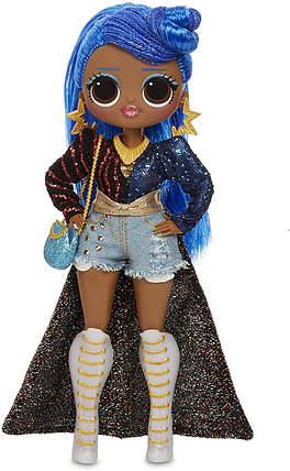 Большая кукла ЛОЛ ОМГ 2 серия Леди Мисс Независимость L.O.L. Surprise! O.M.G. Miss Independent 20 Surprises, фото 2