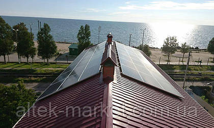 Специалистами нашей компании ООО РА ИНЖИНИРИНГ, в г. Запорожье, была смонтирована, запущена и сдана в эксплуатацию гибридная солнечная станция, мощностью 15 кВт в г. Бердянск.