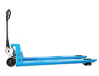 Тележка гидравлическая ручная ACL 35/18, грузоподъемность 3500 кг, с удлиненными вилами длиной 1800 мм