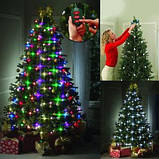 Гирлянда на новогоднюю елку конусная Tree Dazzler, фото 8