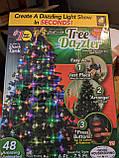 Новорічна конусна світлодіодна гірлянда Tree Dazzler на ялинку, фото 10