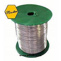 Проволока пчеловодческая для рамок 0,5 кг (нержавеющая сталь, диаметр проволоки в пределах 0,3…0,4 мм)