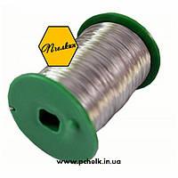 Проволока пчеловодческая для рамок 0,25 кг (нержавеющая сталь, диаметр проволоки в пределах 0,3…0,4 мм)