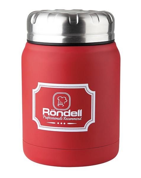 Термос пищевой Rondel Picnic красный 0,5л нержавейка (RDS-941)