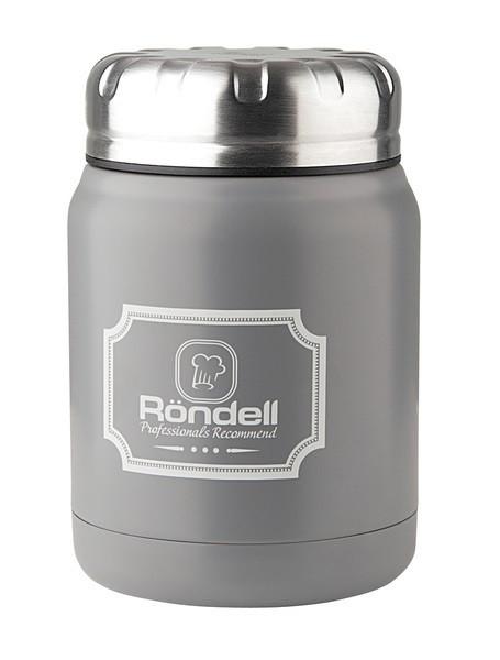 Термос пищевой Rondel Picnic серый 0,5л нержавейка (RDS-943)