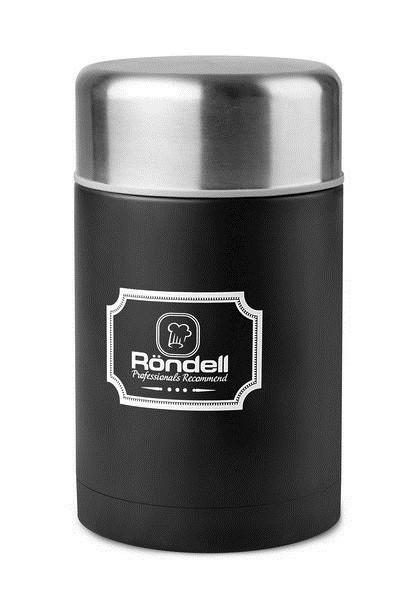 Термос пищевой Rondel Picnic черный 800мл нержавейка (RDS-946)