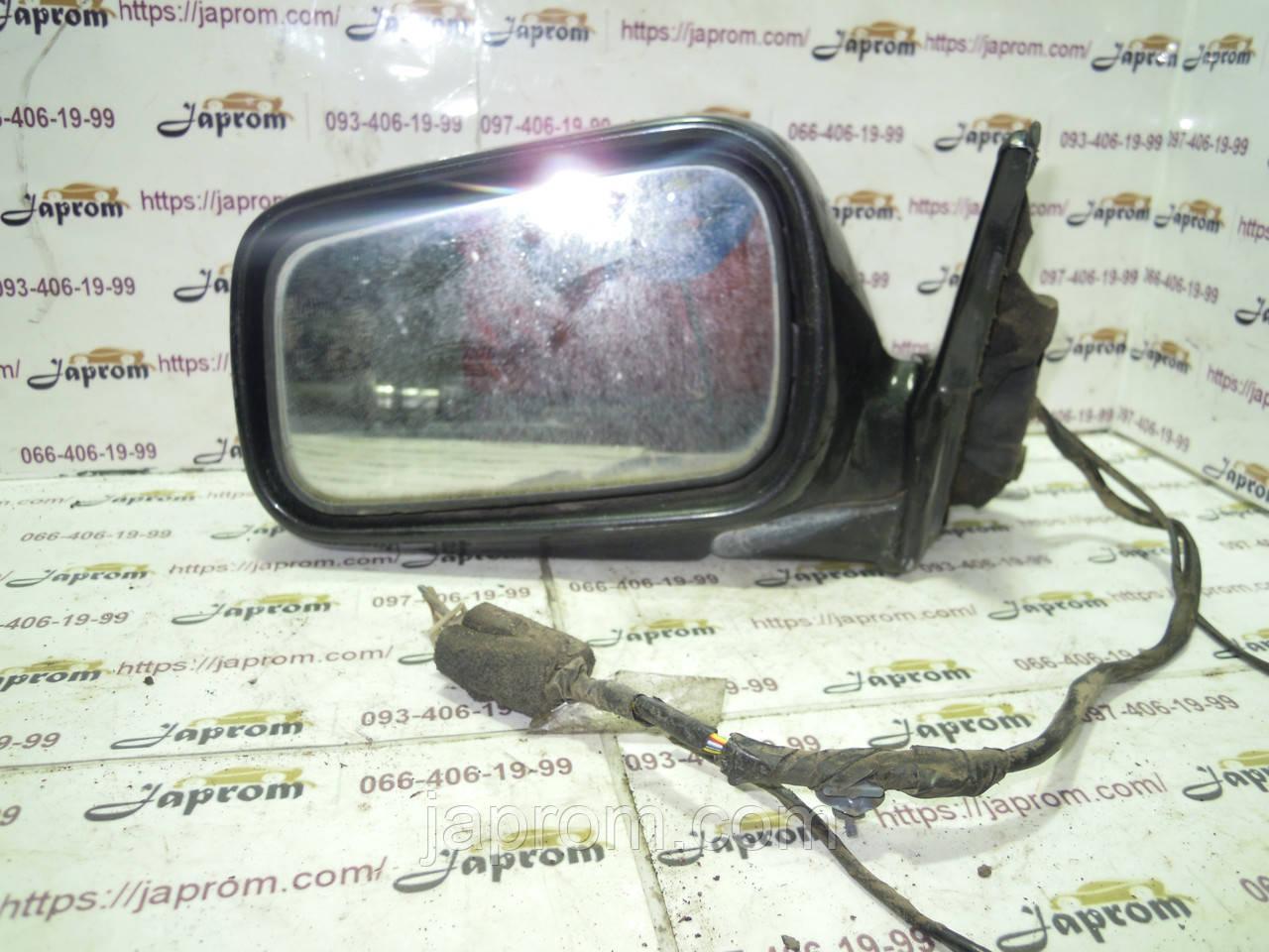 Зеркало заднего вида левое Honda Accord III 1985-1989г.в. седан черное